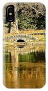 An Autumn Bridge IPhone Case