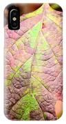 An Autumn's Leaf IPhone Case