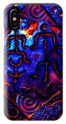 Ancient Family In Cosmos IPhone Case