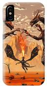 Ancient Lava Dragons Born Of Fire IPhone Case