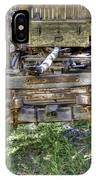 Ancient Wagon Frame IPhone Case