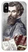 Andreas Vesalius, Belgian Anatomist IPhone Case