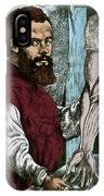 Andreas Vesalius, Flemish Anatomist IPhone Case