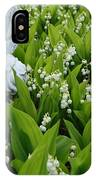 Angel In The Lilies IPhone Case