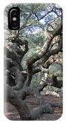 Angel Oak - Johns Island Sc IPhone Case