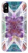 Angel Of The Crystal World IPhone Case