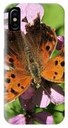 Anglewing Butterfly IPhone Case