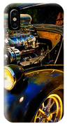 Anglia Dragster And A Duce Staged For A Grudge Run  IPhone Case