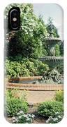 Annapolis Fountain Garden IPhone Case