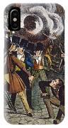Anti-catholic Mob, 1844 IPhone Case