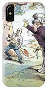 Anti-trust Cartoon, 1904 IPhone Case