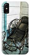Antique Baby Carriage IPhone Case