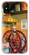 Antique Coffee Mill IPhone Case
