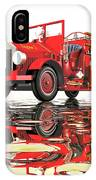 Antique Fire Engine IPhone Case