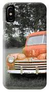Antique Ford Car 7 IPhone Case