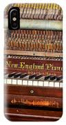 Antique Piano IPhone Case