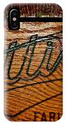 Antique Wooden Cart IPhone Case