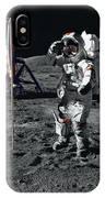 Apollo 17 Astronaut Salutes The United IPhone Case