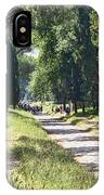 Appian Way In Rome IPhone Case