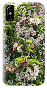 Apple Blossom (malus 'pom Zai') IPhone Case