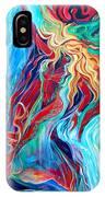 Aqua Rain IPhone Case