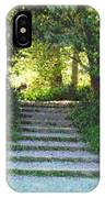 Arboretum Steps IPhone Case
