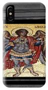 Archangel Michael Mosaic IPhone Case