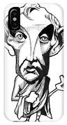 Aristotle, Caricature IPhone Case