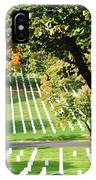 Arlington National Cemetery In The Fall  IPhone Case