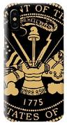 Army Medallion IPhone Case