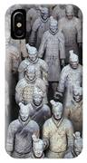 Army Of Terracotta Warriors In Xian IPhone Case