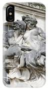 Art Gallery Statue In Cardiffs IPhone Case