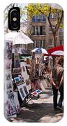 Artist Colony Of Montmartre IPhone Case