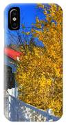 Ashuelot Covered Bridge And Forsythia IPhone Case