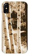 Aspens Llll IPhone Case