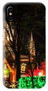 Assembly Hall Slc Christmas IPhone Case