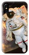 Astronaut In A Space Suit IPhone Case