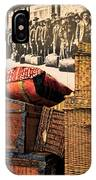 At Ellis Island IPhone Case