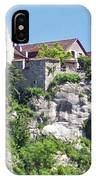 At The Rhine Falls IPhone Case