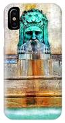 Au Non Potable A Fountain In Arles IPhone Case