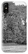 Audubon Park 2 Monochrome IPhone Case