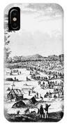 Australia: Gold Rush, 1851 IPhone Case