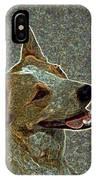 Australian Cattle Dog Mix IPhone Case