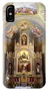 Austrian Church Interior IPhone Case