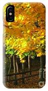 Autumn At Bayberry Cottage  IPhone Case