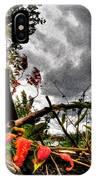 Autumn Breeze Through The Trees    Alt IPhone Case