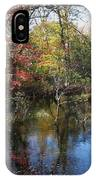 Autumn Colors On The Pond  IPhone Case