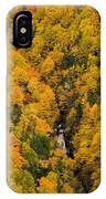Autumn Colour And Waterfalls, Cape IPhone Case