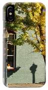 Autumn Detail In Old Town Grants Pass IPhone Case