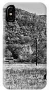 Autumn Farm Monochrome IPhone Case